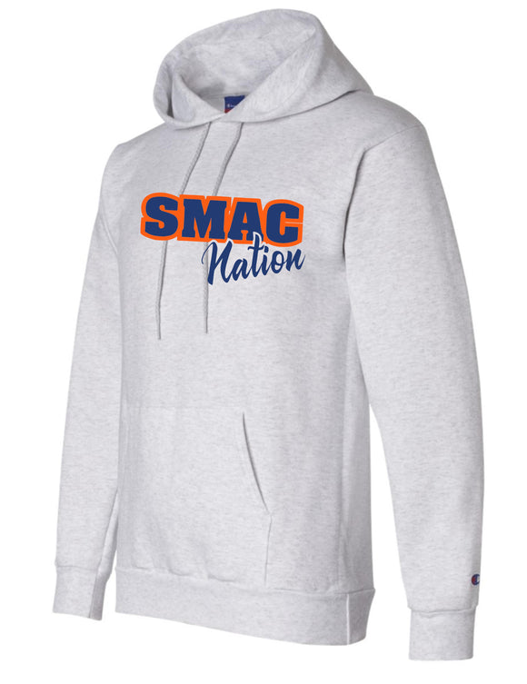 SMAC Basketball Champion Brand Double Dry Eco Hoodie