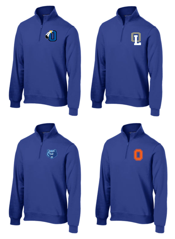Sport Tek Unisex Quarter Zip - Your Choice of Logo