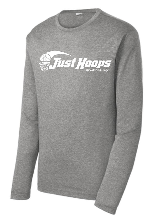 Just Hoops Adult Sport-Tek L/S Tee