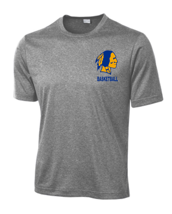 Braves Basketball Youth  & Adult Performance T