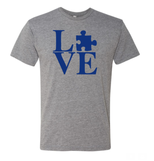 Autism LOVE Triblend T-Shirt