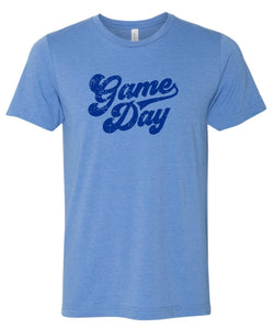 Berlin Columbia Blue & Royal Super Soft Game Day T