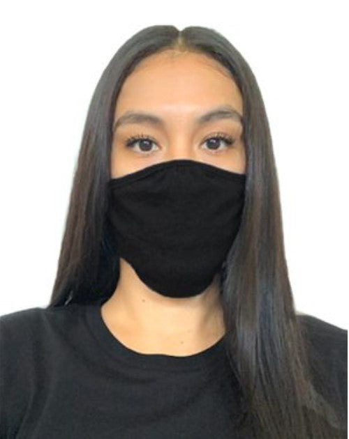 Black Soft Tshirt Mask