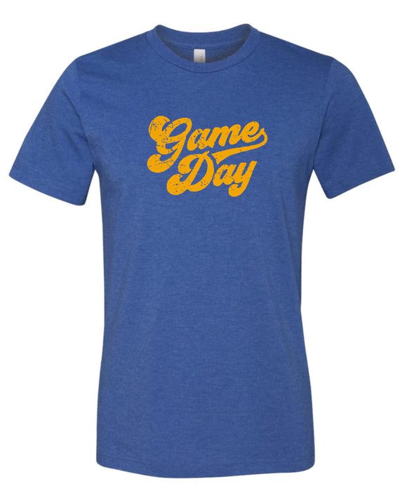 Braves Royal & Gold Super Soft Game Day T