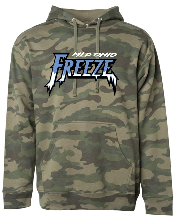 Mid Ohio Freeze Camo Hooded Sweatshirt