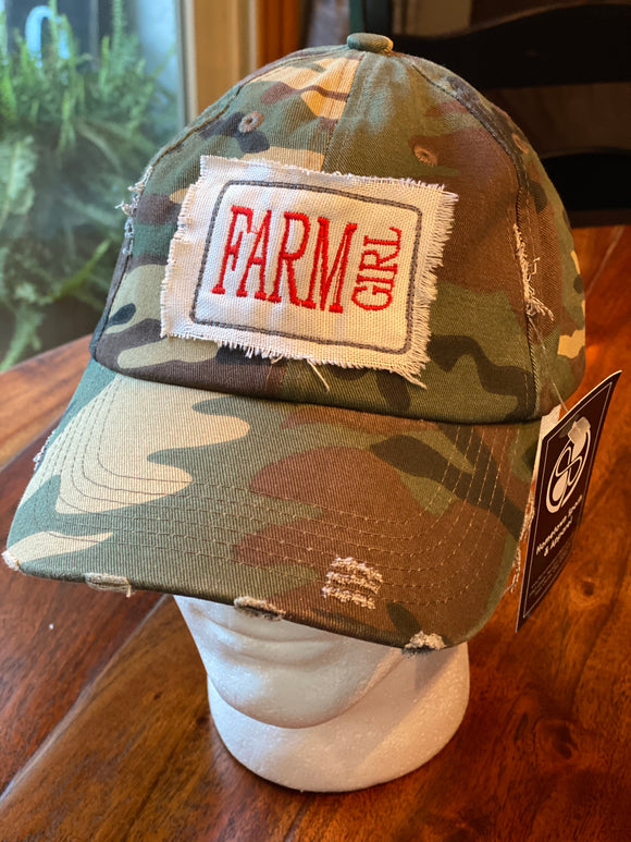 Farm Girl Camo Hat