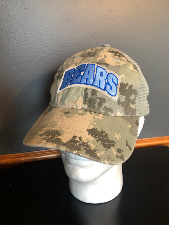 Bears Camo Trucker Hat