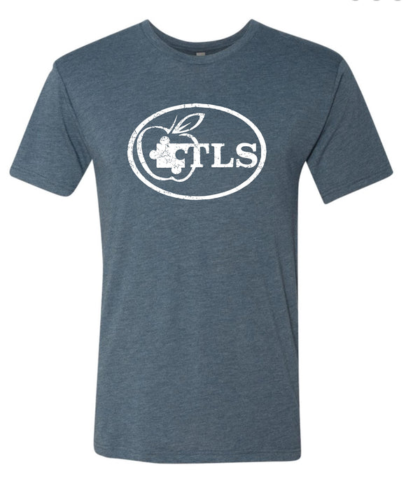 TLS Adult Super Soft  T-shirt - Indigo