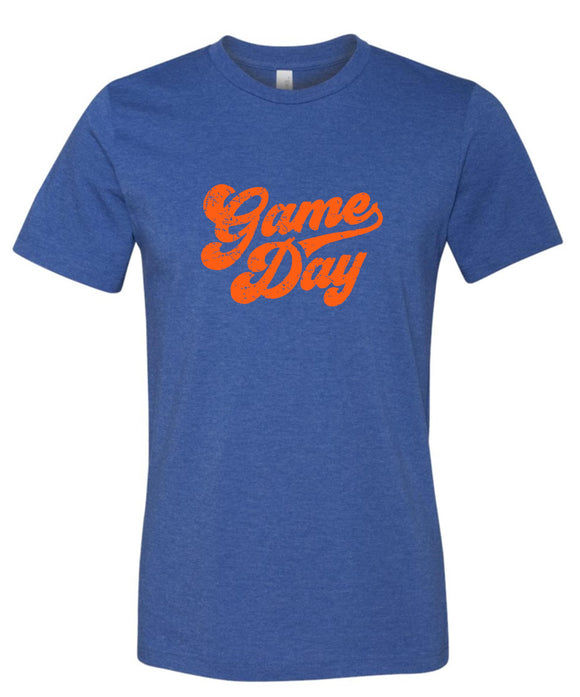Orange Royal & Orange Super Soft Game Day T