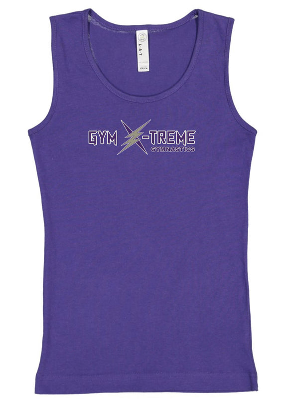 Gym X-treme Youth & Adult Tank Top-Purple