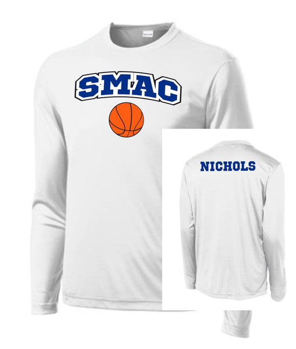 SMAC Basketball Official Warm Up Shirt