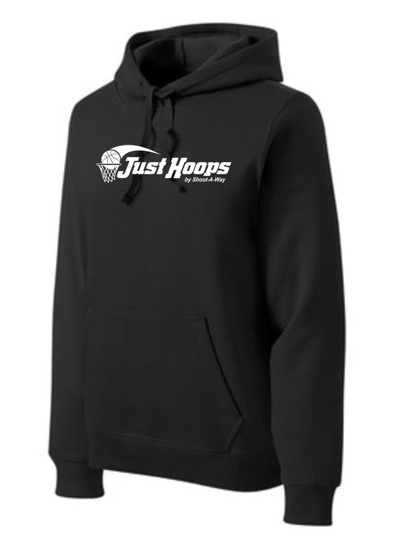 Just Hoops Youth and Adult Hoodie- Black
