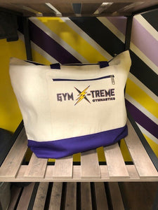 Gym X-Treme Zipper Tote Bag