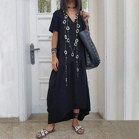 Women Bohemian Style Long Dress