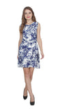 Women's Floral Printed A-Line Mini Dress