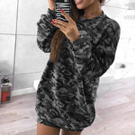 Women's Sweartshirt Dress
