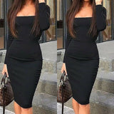 Women's Bodycon Formal Dress