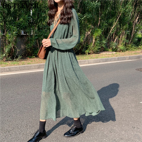 Vintage Style Women's Summer Dress