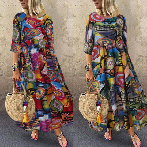 Women Long Maxi Summer Dress