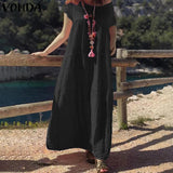Women Loose Casual Maxi Dress