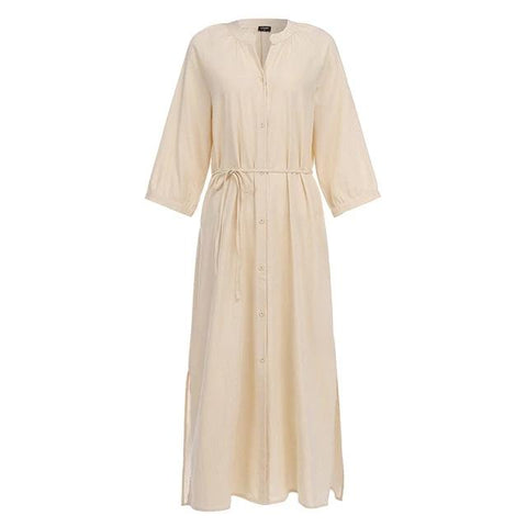 Women's Long Maxi Cotton Dress