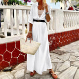 Solid Summer Maxi Dress