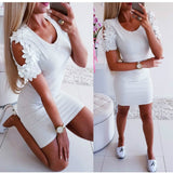 Women Short Mini Slim Dress