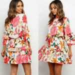 Floral Mini Summer Dress