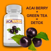 Load image into Gallery viewer, ACALUXIN Acai Berry & Green Tea Body Detox