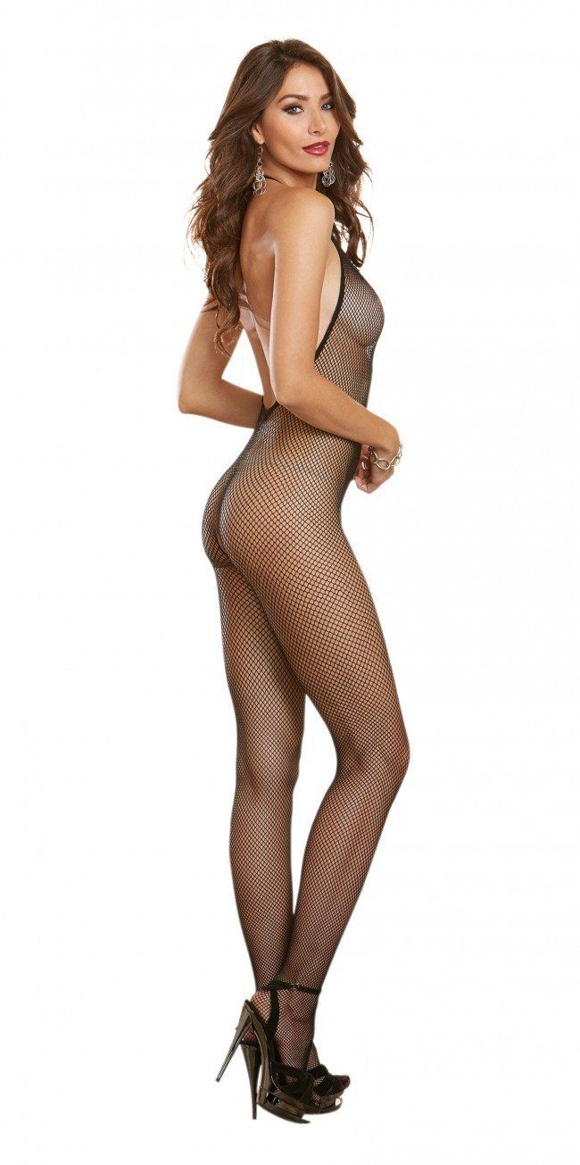 Madeira Seamless Fishnet Bodystocking