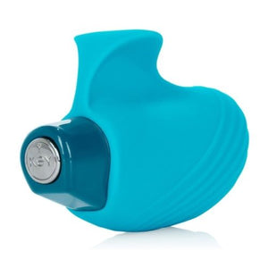 Aries Ambidextrous Finger Massager Robin Egg Blue