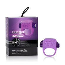 Load image into Gallery viewer, Halo Enhancer Ring Lavender