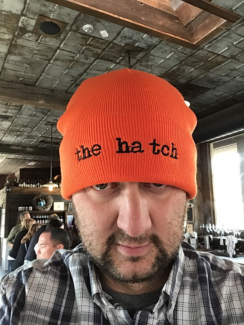 Sexy orange toque