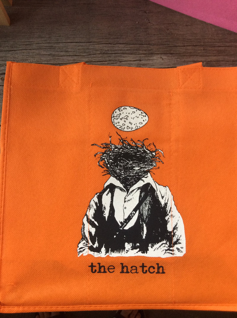hatch 6 bottle Orange tote