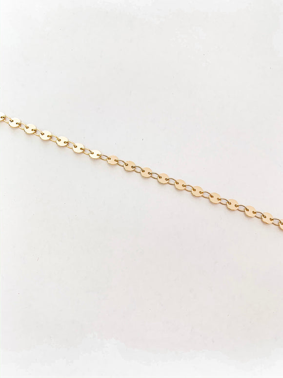 Gold Filled Coin Chain