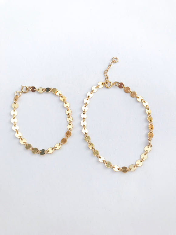 Baby/Child Gold Coin Bracelet