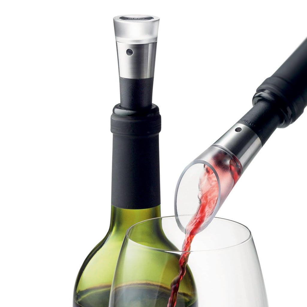 MENU Decanting Pourer and Vacuum Stopper