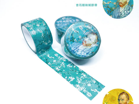 Hyle Design X Vincent van Gogh Washi tape 和紙膠帶