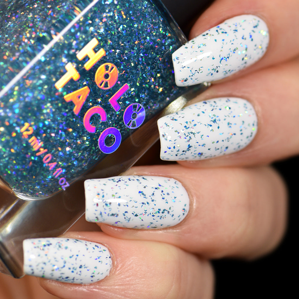Blue Flakie Holo Taco