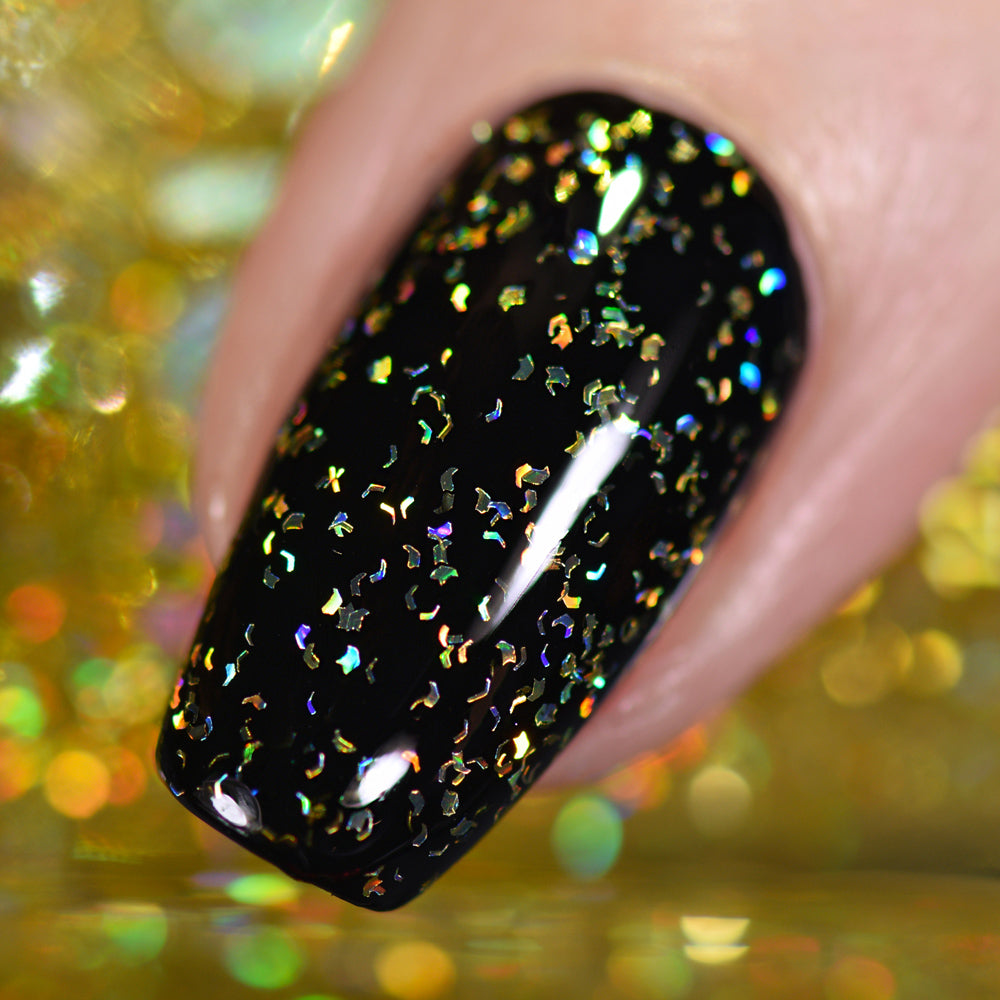 Gold Flakie Holo Taco