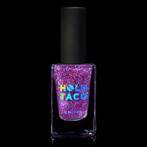 Purple Flakie Holo Taco