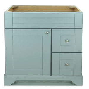 "36"" Grey Damian Vanity Base Only"
