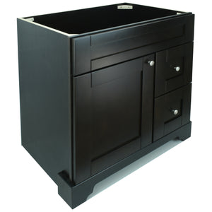 "36"" Espresso Damian Vanity Base Only"