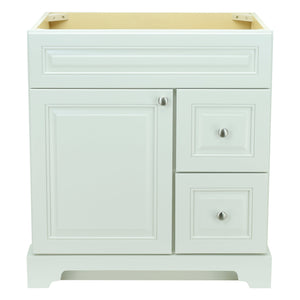 "36"" Antique White Damian Vanity Base Only"