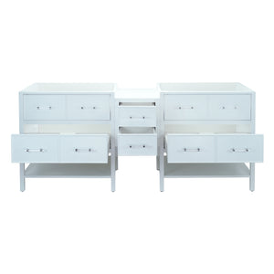 "62"" White Gemma Vanity Base Only"