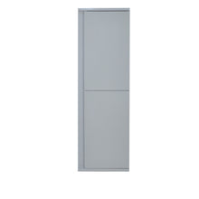 Load image into Gallery viewer, David Parisian Grey Side/Linen Cabinet