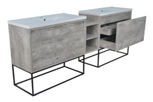 Load image into Gallery viewer, Casey Vanities Double Sink with Middle Cabinet