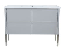 "Load image into Gallery viewer, 48"" David Parisian Grey Vanity"