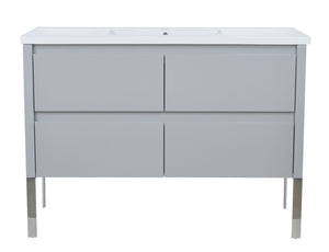 "48"" David Parisian Grey Vanity"
