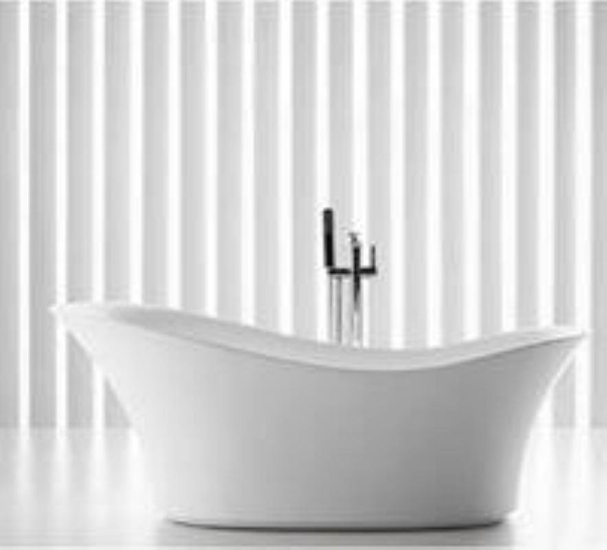 Teresa SB-268W Freestanding Bathtub